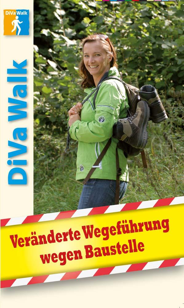 Veränderte Wegeführung DiVa Walk