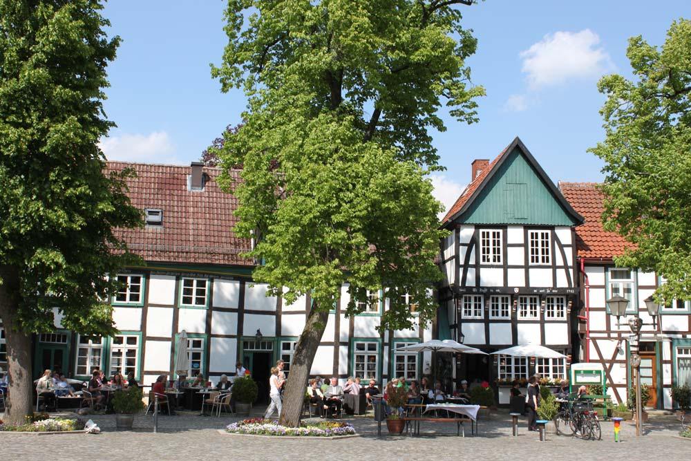 Kirchplatz in Bad Essen
