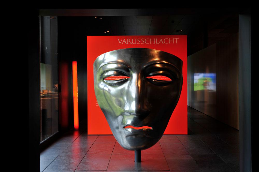 Varussschlacht im Osnabrücker Land - Museum und Park Kalkriese - Dauerausstellung